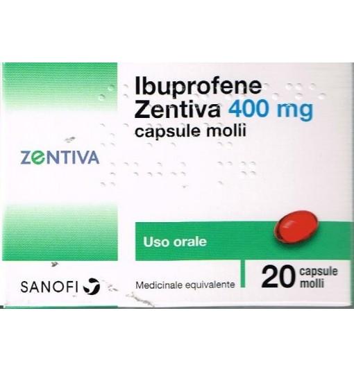 Offerta Speciale Ibuprofene Zen 20Cps Mol 400Mg