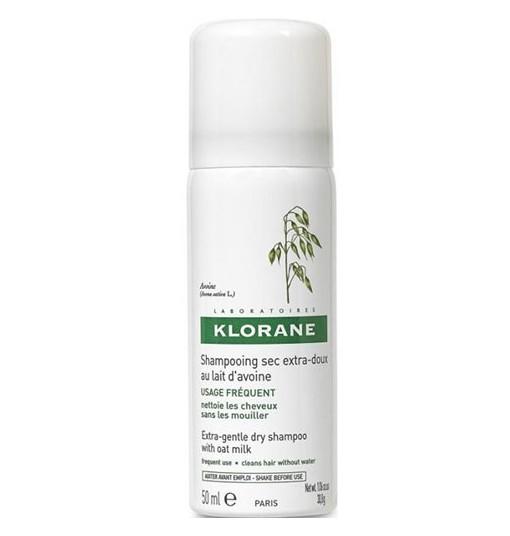 Klorane Shampoo Secco Latte Avena 50 Ml