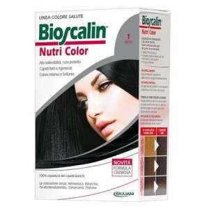 Bioscalin Nutri Color 1 Nero Sincrob 124 Ml