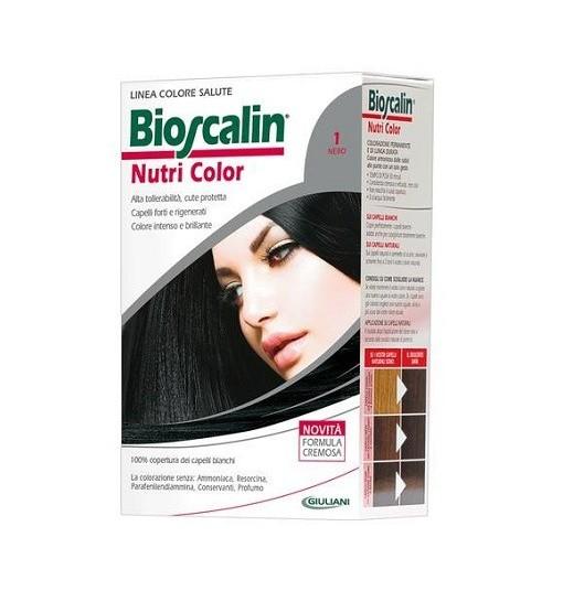 Bioscalin Nutri Color 1 Nero Sincrob 124 Ml