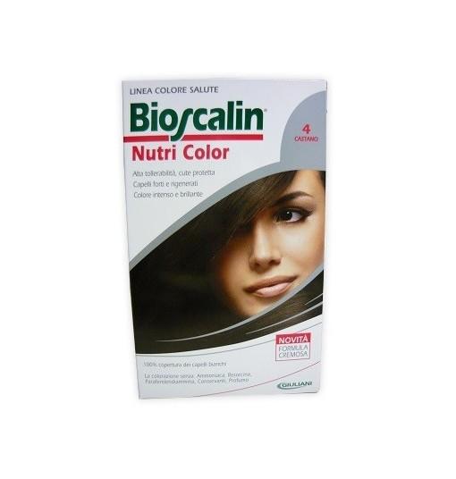 Bioscalin Nutri Color 4 Castano Sincrob 124 Ml
