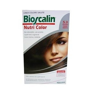 Bioscalin Nutri Color 5.3 Castano Chiaro Dorato Sincrob 124 Ml