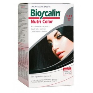 Bioscalin Nutri Color 1.11 Nero Blu Sincrob 124 Ml