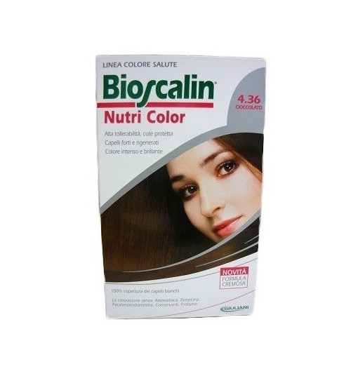 Bioscalin Nutri Color 4.36 Cioccolato Sincrob 124 Ml