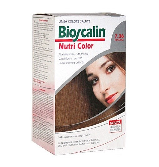 Bioscalin Nutri Color 7.36 Nocciola Sincrob 124 Ml