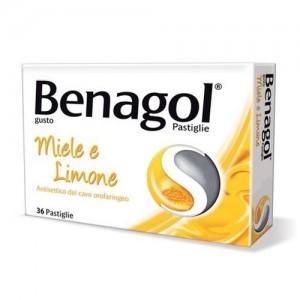Benagol 36Past Miele Limone