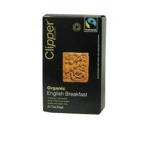Clipper Te' English Breakfast Fair Trade Bio 20 Filtri 62,5 G