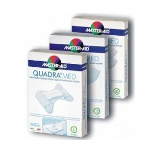 Cerotto Master-Aid Quadra Dermoattivo Medio 20 Pezzi