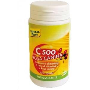C500 Con Rosa Canina 100 Capsule