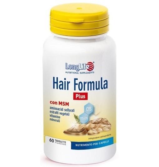 Longlife Hair Formula Plus 60 Tavolette