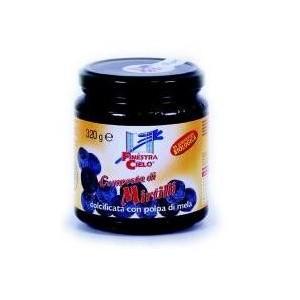 Composta Di Mirtilli Bio Con Polpa Di Mela 320 G