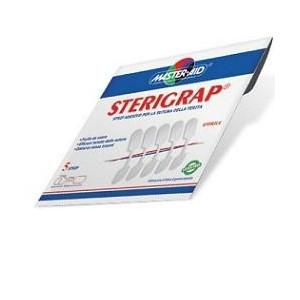Cerotto Per Sutura Master-Aid Sterigrap 3,2X0,8 5 Pezzi