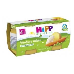 Hipp Bio Hipp Bio Omogeneizzato Verdure Miste 2X80 G
