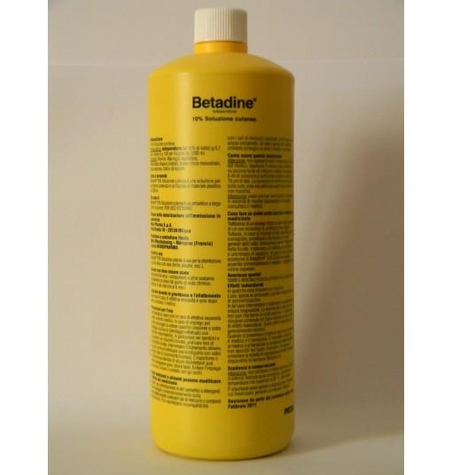Betadine Soluz Cut Fl 1000Ml