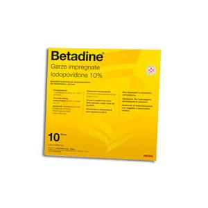 Betadine 10Garze Impregn 10X10