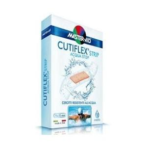 Cerotto Master-Aid Cutiflex Strip Trasparente Impermeabile