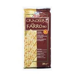 Fsc Crackers Di Farro Senza Lievito Con Olio Extravergine Di