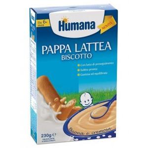 Humana Pappa Lattea Biscotto 230 G