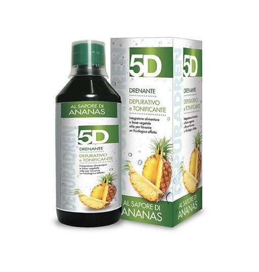 5D Sleeverato Ananas 500 Ml