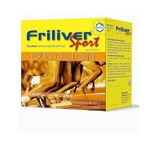 Friliver Sport Explosion 12 Bustine 240 G