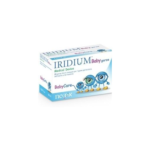 Offerta Speciale Garza Oculare Medicata Iridium Baby 28 Pezzi