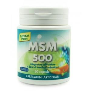 Msm 500 60 Capsule Vegetali