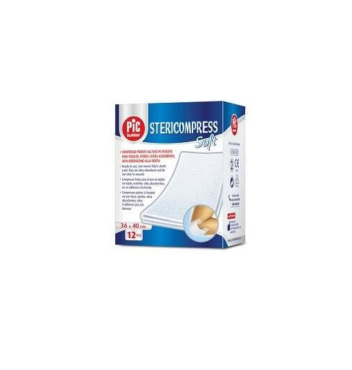 Garza Compressa In Tessuto Non Tessuto 10X10Cm 25 Pezzi X 4