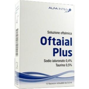 Soluzione Oftalmica Oftaial Plus Acido Ialuronico 0,4% E