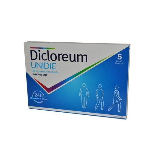 Offerta Speciale Dicloreum Unidie 5Cer Med136Mg